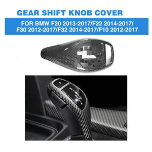 Carbon Fiber Gear Shift Cover Trim for BMW F30 F32 F22 F34 2 3 4 Series Shifter