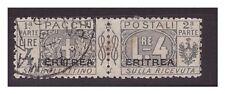 ERITREA 1917 - PACCHI POSTALI   Lire 4    Usato