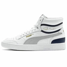 PUMA Men's Ralph Sampson Mid Basketball Casual Sneakers Shoes 370847-04 - WHITE
