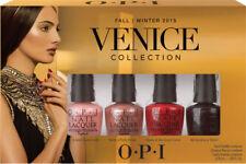 Opi Venice Collection Fall Ongles Vernis Lot de 4 Mini's Fou Prix Réduit Plume