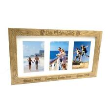 Personalised Adventures Travel Holiday Wooden Triple Picture Photo Frame B48-6