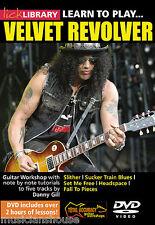 Bibliothèque lécher apprendre à jouer Velvet Revolver rock riffs tomber à pièces Guitare DVD