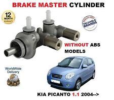 FOR KIA PICANTO BA 1.1 G4HG 12V 2004-->NEW -ABS MODEL BRAKE MASTER CYLINDER