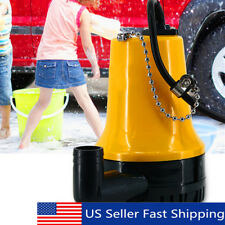 DC12V 1620GPH 4500RMP Submersible Water Pump Clean Clear Dirty Pool Pond Flood