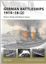 Osprey Vanguard 167 German Battleships 1914-1918 (2)  Softcover Reference NM ST