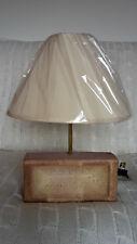 London Brick Company LBC House Industrial Steam Punk Table Lamp Brass stem