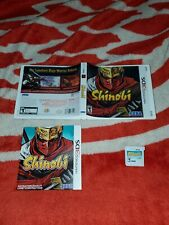 Shinobi (Nintendo 3DS, 2011) complete cib very nice