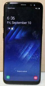 Samsung Galaxy S8 SM-G950U - 64GB - Midnight Black (Verizon/Unlocked) Cell Phone