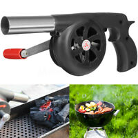Hand Barbecue BBQ FiAir Campfire Air Blower Fireplace Bellows Grill Fire