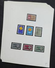 EDW1949SELL : CYPRUS Clean, all Diff. VF MNH collection between 1968-89 Cat