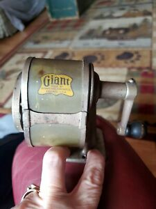 Antique 1920's Giant Automatic 6-Hole Pencil Sharpener Co. Chicago USA