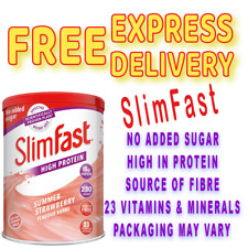 SlimFast High Protein Meal Replacement Powder Shake 12 Servings