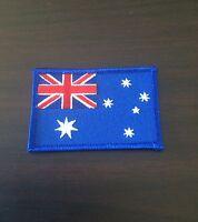 AUSTRALIAN FLAG Sew On / Iron On Patch.     Australia flag Embroidered Badge
