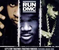 Run DMC Let's stay together (5 tracks, 2001, feat. Jagged Edge) [Maxi-CD]