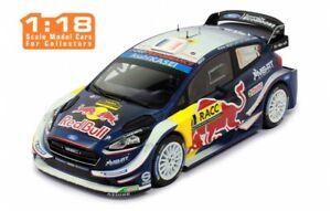 FORD FIESTA WRC rally cars Ogier Catalunya 2018 1:18 IXO 18RMC042A 042B or 042C