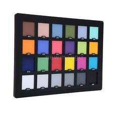 Professional 24 Color Card Test for Superior Digital Color Correction NEW Hot