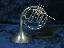 Weltklang Silver Eb Mellophone Ser#190332 Made in GDR in Really Nice Shape!*