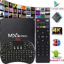 MXQ PRO 4K TV BOX Android 7.1 KODI 18 S905W Quad Core Smart Media Player 1GB+8GB