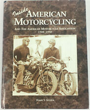 Inside American Motorcycling Book by Harry V. Sucher - First Edition - 398 Pgs.