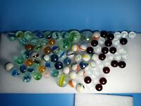 vintage lot of  Antique Marbles peltier, Akro, Allkey Christensen, marble king