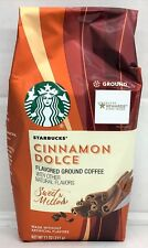 Starbucks Cinnamon Dolce Flavored Ground Coffee 11 oz