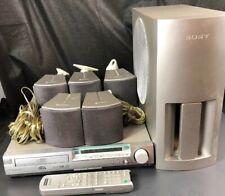 SONY Surround Sound Sound System HCD-S300 Complete Receiver Speakers Remote