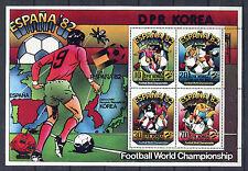 s5629) KOREA 1982 MNH** World Cup Football-Campionato Mondiale Calcio S/S