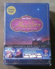 Aladdin Special Edition Collector's Gift Set by Scott Weinger DVD Set NEW Sealed