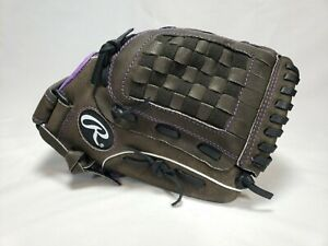Rawlings Youth Storm 12 Inch Fastpitch Softball Glove Right Hand Throw Black