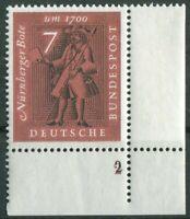 Bund 365 doppelte Formnummer 2 auf 2 postfrisch BRD Eckrand Ecke 4 MNH