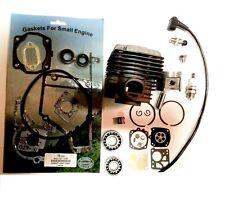 Cylinder kit for stihl ts400 overhaul + gasket set oils seals + bearings set