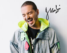 J BALVIN SIGNED AUTOGRAPHED REPRINT 8X10 COLOR PHOTO PROMO POSTER GLOSSY TOUR