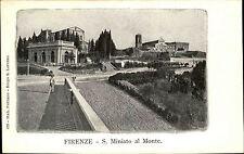 Florenz Firenze Italien Italia Toskana ~1900 Basilika San Miniato al Monte Dom