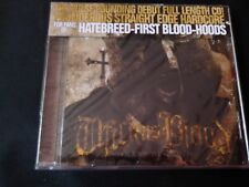 Thick As Blood - Moment Of Truth (SEALED NEW CD) HATEBREED FIRST BLOOD HOODS