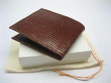 Genuine lizard wallet, men's wallet, money & card holder, by SHANTPETER U.S.A.