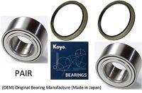 2001-2007 Toyota Sequoia 2WD Front Wheel Hub Bearing & Seal (OEM) KOYO (PAIR)
