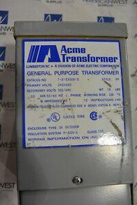ACME Encapsulated Transformer 0.50 KVA 1 Phase T-2-53008-S 240x480 to 120/240 V