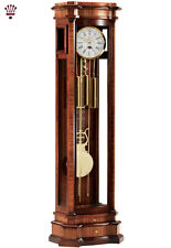 BilliB Elise Distinctive Grandfather Clock, Westminster Chime in Zebrano Walnut