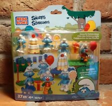 Mega Bloks #10767 The Smurfs Celebration 37 pcs Grumpy Clown 2013 Peyo New lego