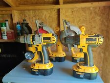 "DeWalt DCD970 1/2"" Cordless Drill/Driver/Hammer 18v with battery and charger"