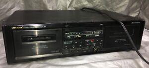 Onkyo TA-RW 313 Stereo Dual Cassette Tape Deck Recorder Auto Reverse Control