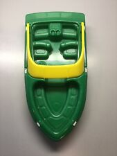 American Plastic Toys Green Boat