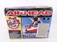 Airhead Hot Shot | 1-2 Rider Towable Tube, Red/White (AHHS-12)-Preowned