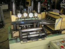 Leveler Straightener 9 Over 10 Corrective Rolls Roll Dia 393 Video Link