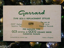 SAPHIR ORIGINAL GARRARD GC 8 / GCE12 CERAMIC SERIES 78 T