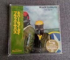 Black Sabbath Never Say Die JAPAN MINI LP SHM CD SEALED