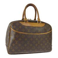 LOUIS VUITTON DEAUVILLE BUSINESS HAND BAG PURSE MONOGRAM M47270 VI0021 A49433