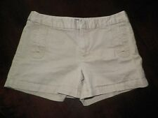 Womens 6 Gap Tan Stretch Shorts