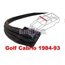 Dichtung Verdeck Verdeckspitze Frontscheibenrahmen VW Golf 1 Cabrio 155871349C
