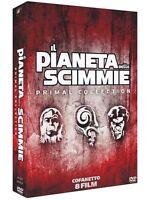 Il Pianeta Delle Scimmie - Primal Collection - Cofanetto Con 8 Dvd - Nuovo